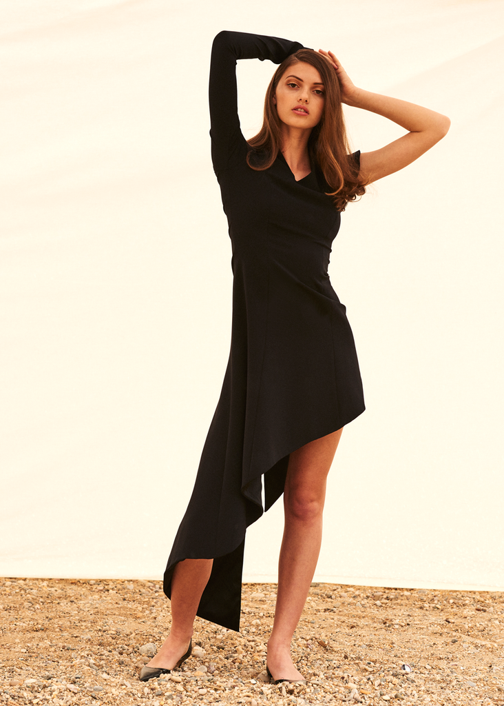 Mala asymmetrical dress