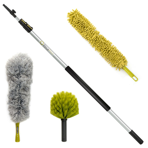 Docapole 12 Foot Extension Pole Dusting Kit Docazoo