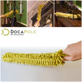 DocaPole 12 Foot Extension Pole + Microfiber Ceiling Fan Duster