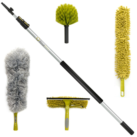 DocaPole 12 Foot Extension Pole Ultimate Cleaning Kit