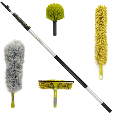 DocaPole 30 foot Extension Pole with Ultimate Cleaning Kit