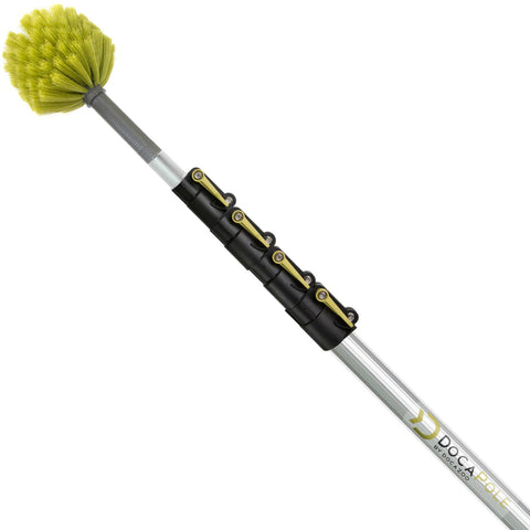 Docapole 24 Foot Extension Pole With Cobweb Duster Docazoo