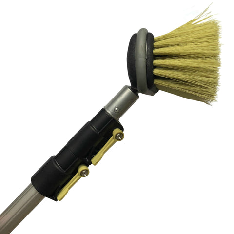 DocaPole Medium Bristle Deck Brush + 5-12' Extension Pole