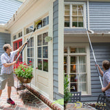DocaPole 24 Foot Extension Pole + Squeegee / Window Washer Combo
