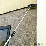 DocaPole 6-24 Foot Extension Pole + Hard Bristle Brush