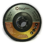 4.5 inch Flap Disc (10 Pack) - 120 Grit Type 29 Professional Grade Zirconia - Abrasive Grinding Wheel