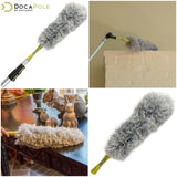 DocaPole 24 Foot Extension Pole + Microfiber Feather Duster