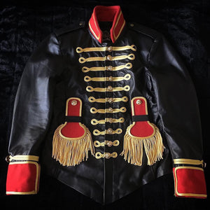 Leather Drum Major Jacket