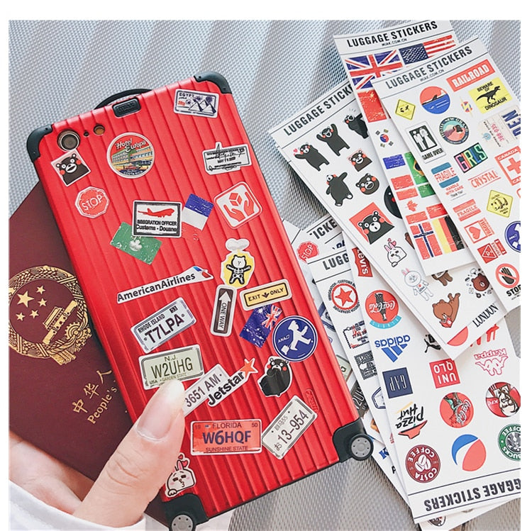 Roadfest Luggage Phone Case