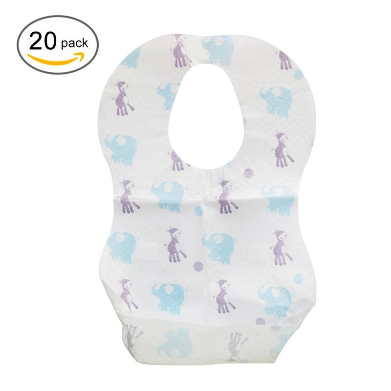 Rose Baby Disposable Bib