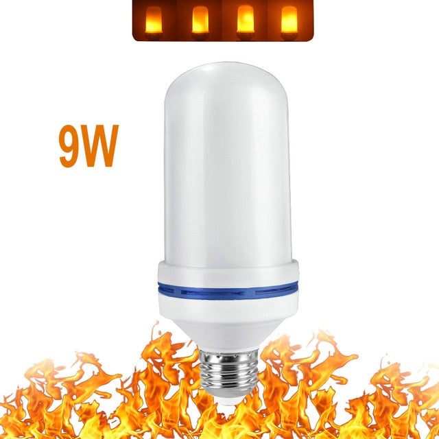 Flickering Flame Effect Bulb ,4 Modes E26/E27/ LED