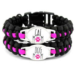 Pet Mom Paracord Bracelets