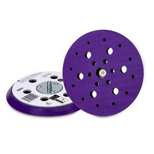 "3M Hookit Clean Sanding Painters 6"" 6 Hole Purple Back Up Pad 05551"