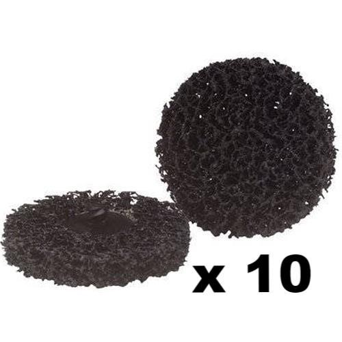 "3M SCOTCH-BRITE ROLOC CARBIDE BLACK DISCS VERY COARSE 2"" 18364 x 10"