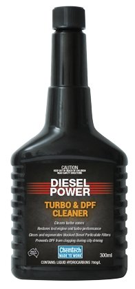 Chemtech Diesel Power Turbo & DPF Cleaner Additive Performance Restore 300mL