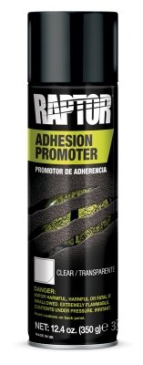 U-Pol Raptor Adhesion Promoter Spray Aerosol Clear Transparent 450mL