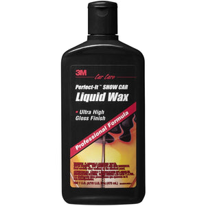 3M Liquid Wax Ultra High Gloss Finish Show Car Long Lasting 473ML 39026