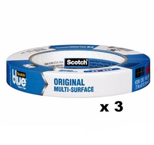 3M Scotch Blue Original Painter's Masking Tape 2090 24mm x 54.8m x 3