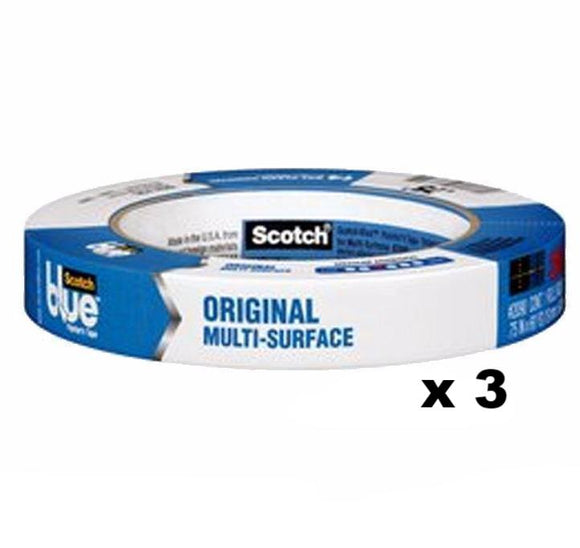 3M Scotch Blue Original Painter's Masking Tape 2090 18mm x 54.8m x 3