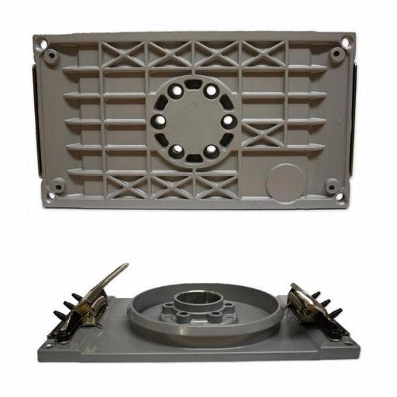 611.55 RUPES Base Plate With Clamps For Models: SS70, SSPF, SO84A, SO84 and SO73