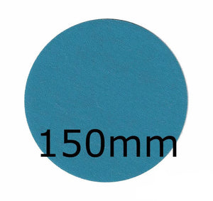 Revcut Blue Sanding Paper Grit P320 150mm No Hole 100 Discs Hook & Loop Sander