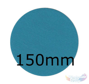 Revcut Blue Sanding Paper Grit P80 150mm Bx100 Film Discs Hook & Loop wet/Dry