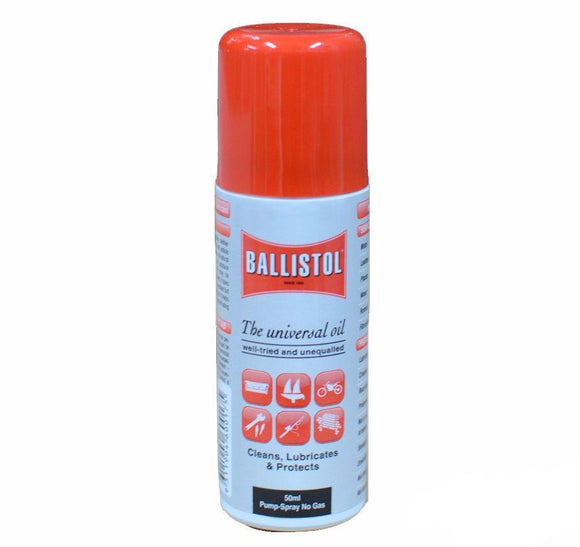 Bondall Ballistol 50ml Lubricant Pump Spray Can Cleans Lubricate Protect