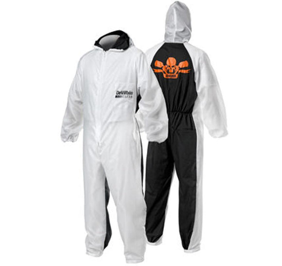 DeVilbiss Reusable Coveralls Spray Painting Overalls Automotive Workwear Suit