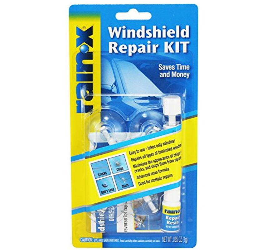 Rain-X Fix a Windshield Windscreen Chip Crack Repair Kit DIY Car Bus Bike Boat