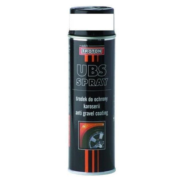 Troton Stone Guard Aerosol Spray UBS Anti Gravel Protect Car Body White 500ml