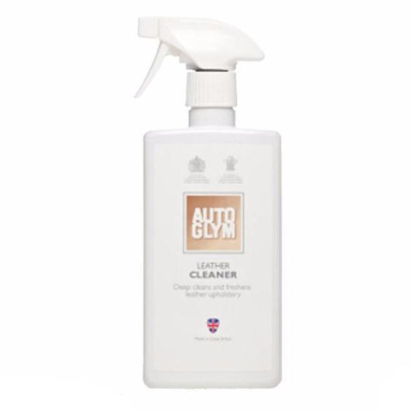 Autoglym Leather Cleaner 500ml Detailing Car Care Freshen Deoderise Upholstery