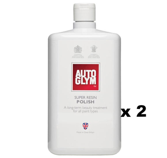 Autoglym Super Resin Polish 1L x 2