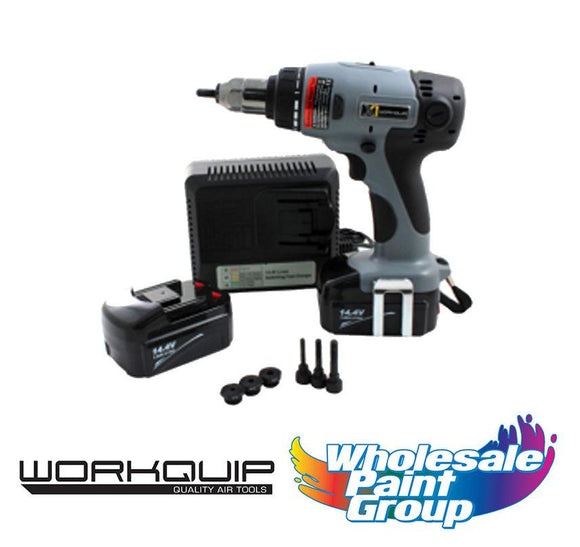 Workquip X1 Digital Cordless Nut Insert Tool 14.4v 18314LI
