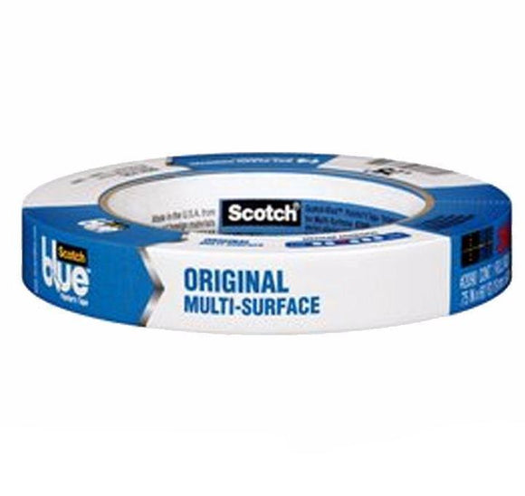 3M ScotchBlue Painter's Masking Tape 2090 24mm x 54.8m Box of 24 Safe Release