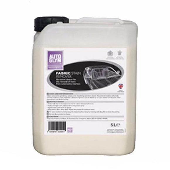 Autoglym Fabric Stain Biodegradable Remover 5L Auto Upholstery Carpets