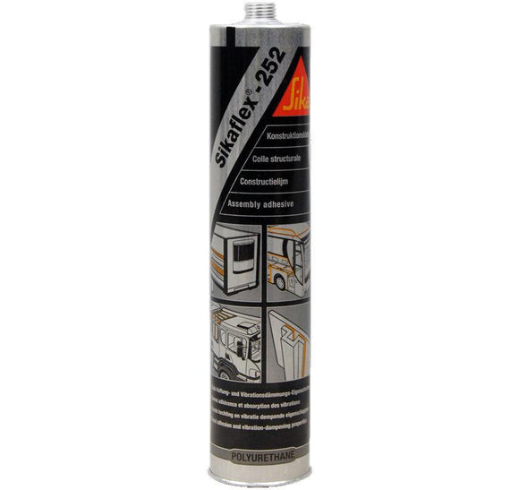 Sika Sikaflex 252 Assembly Adhesive White 300ml Elastic Bonding Structural Joint