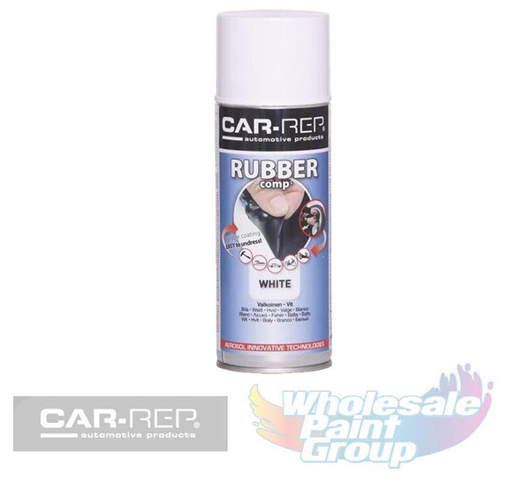 White Removable Rubber Paint Plasti Dip Wheel Rim Spray Paint 400ml Rubber Comp
