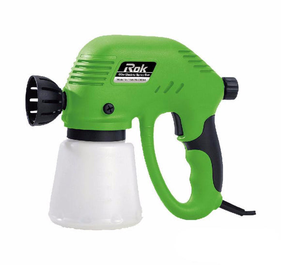 Rok Electric Paint Airless Sprayer 80w Paint Spray Gun Flow Control 2Yr Warranty