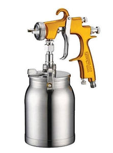 Star EVOT LVLP 2000 V3 Spray Paint Suction Gun 1.6mm Gold Waterbourne 2K Stains