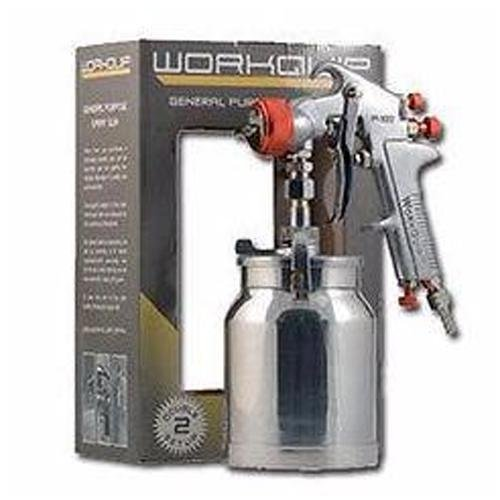 Workquip Double Setup General Purpose Suction Spray Gun 1.8mm & 2.5mm P102