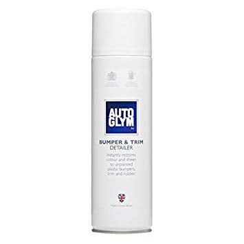 Autoglym Bumper & Trim Bumper Detailer Colour Restore Sheen Spray 274g