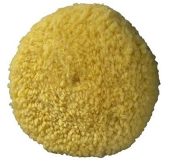 3M Superbuff Wool Yellow Polishing Pad Double Sided Screw On 05705 Swirl Remover