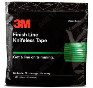 3M Finish Line Knifeless Tape KTS-FL1 Green 3.5mm x 50m