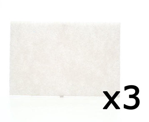 3M 7445 Scotch-Brite Light Duty Cleansing Pad 152mm x 228mm 3 Pack