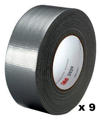 3M General Use Silver Duct Tape 2929 48mm x 45.7mm x 9