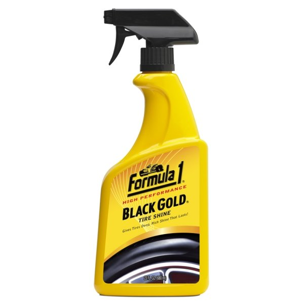 Formula 1 High Performance Black Gold Tire Shine 680ml Car Care Auto Detailing
