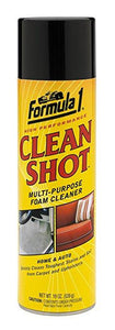 Formula 1 Clean Shot Multipurpose Foam Spray Cleaner Home & Auto 539g