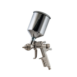ANI ATS Primer Putty Gravity Spray Paint Gun 3.0mm & 1L Aluminum Pot