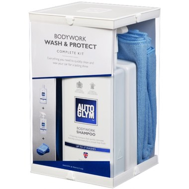 Autoglym Automotive Bodywork Wash & Protect Shampoo Wax Kit