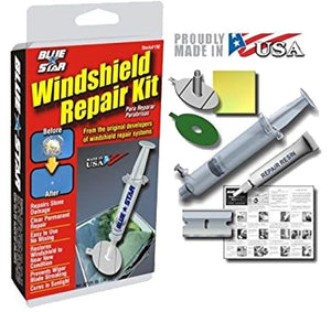 Blue Star Windshield Repair Kit .80mL